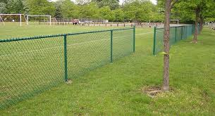 Green Color 10 Gauge Galvanized Chain Link Fence 6 Foot Quick To Install For Sale Chain Link Fence Fabric Manufacturer From China 109658244