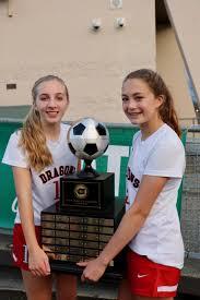 State girls soccer: Abby Jones, Maddy Christiansen of St. George's ...