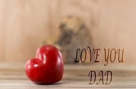 l love you dad stock photos