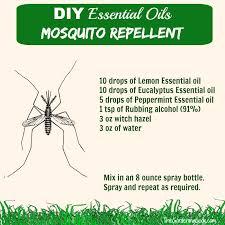 essential oil mosquito repellent spray