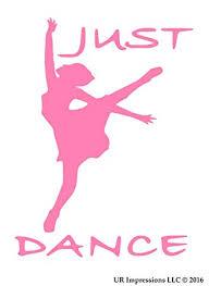 Dancer Ballet Ballerina Car Laptop Sticker Decal Dance Mom Vinyl Decal Home Garden Home Decor