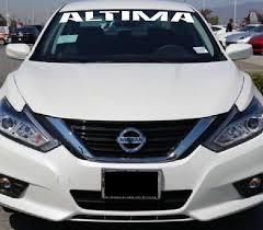 Nissan Altima Windshield Banner Decal Sticker Custom Sticker Shop