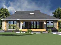 3 bedroom bungalow house plan design