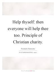 help thyself then everyone will help thee too principle of
