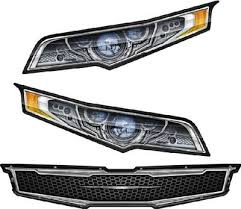 Headlight Decal Package 1 For Racecars