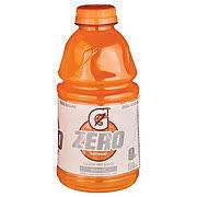 gatorade zero orange thirst quencher