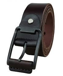 mens leather belt full grain vintage