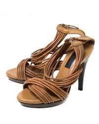 crisscross platform sandals size 35