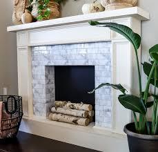 er friendly diy faux fireplace