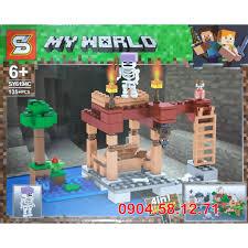 Đồ chơi LEGO Minecraft Thế Giới của Tôi - SY6194 My World, giá chỉ ...