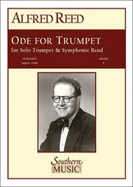 Ode for Trumpet with Band | Alfred Reed | RUNDEL Verlag
