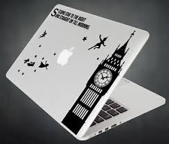 Peter Pan Sticker Big Ben Decal Apple Macbook Mac Ipad Laptop Car Window 2 Ebay