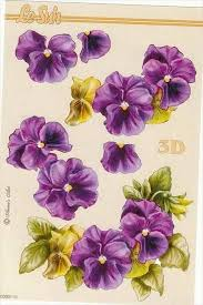 Pin by Hilda Watson on papier 3d | Flower prints framed, Decoupage  printables, Floral painting