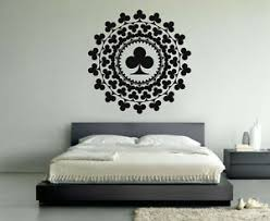 Vinyl Wall Decal Sticker Design Playing Cards Casino Decor Chance Games Vy279 Ebay