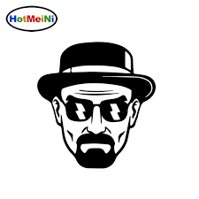 Heisenberg Car Window Sticker V05 Walter White Breaking Bad Decal Sign Other Television Memorabilia Entertainment Memorabilia