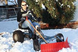 country lore pedal powered snow plow