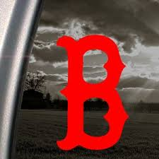 Boston Red Sox Red Decal B Logo Car Truc Buy Online In Brunei At Desertcart