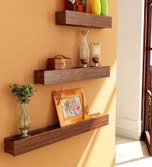 making wooden wall shelves indoor