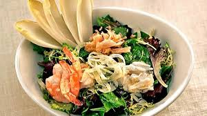Simple seafood salad at its best - Los ...