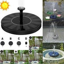 150l h 16cm large size solar fountain