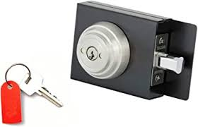 Amazon Com Gate Lock Boxes Deadbolt Gate Lock Weldable Steel Lock Box Home Improvement