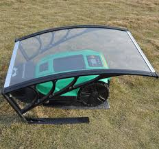 robotic mower g400 with weather shelter