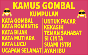kamus gombal for android apk