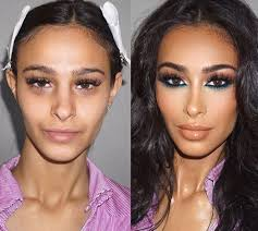 nose look smaller with makeup