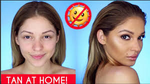 how to look more tan without makeup