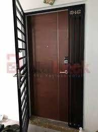 hdb fire rated main door factory