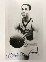 Pop Gates Autographed 8x10 B&W Photo - Autographed NBA Photos at Amazon's  Sports Collectibles Store