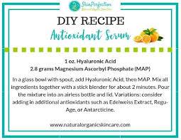 make your own antioxidant serum
