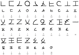 naric alphabet