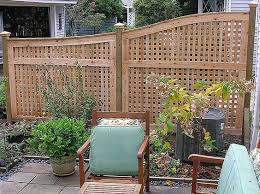 17 Lattice Fence Examples Awesome Ways To Use Patio Fence Lattice Fence Panels Backyard Fences
