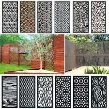 decorative screening panels outdoor