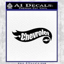 Hot Wheels Chevrolet D1 Decal Sticker Chevy A1 Decals