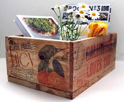 diy wooden box and storage box from