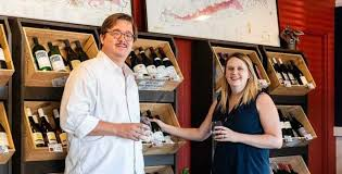 The wine advocates: Will Curley and Priscilla Martin Curley of The ...