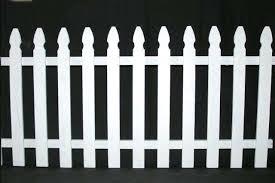 8 X3 White Picket Fence Orbit Event Rentals