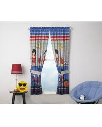 Spectacular Deals On Ryan S World Kids Bedroom Curtain Panel Set Set Of 2 63 Inch L