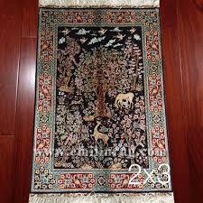 1a 2ft x 3ft small handmade silk