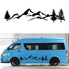 For Mountain Decal Forest Vinyl Custom Nature Graphic Camper Rv Trailer Truck Custom Sticker Car Stickers Aliexpress