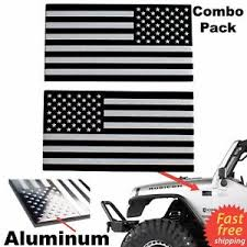 3d Metal American Flag Sticker Decal Mirrored Reverse Car Truck Utv Atv Emblem Ebay