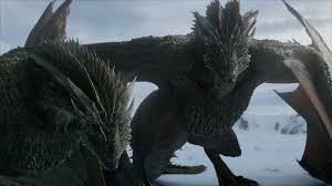 game of thrones dragon snow 1920x1080