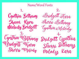 Gold Foil Custom Name Decal Personalized Vinyl Decals Lettermix Studio