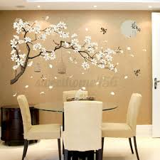Cherry Flower Blossom Tree Branch Wall Stickers Kids Decor Business Decals Art For Sale Online Ebay