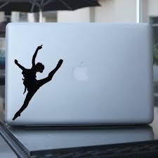 Amazon Com Ballerina Dancer Vinyl Decal For Car Window Laptop Wall Etc Home Kitchen Ballet Dancers Dancer Vinyl Decals