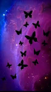 black erfly purple iphone 7