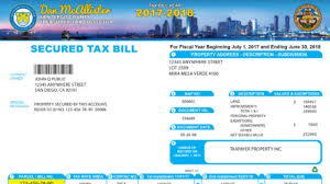 property tax payments can t be