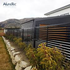 Horizontal Garden Fence Privacy Screen Panel Aluminium Slat Fence Vertical Buy Garden Fence Aluminium Slat Fence Slat Fence Panels Product On Aluminum Pergola Alunotec